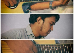Asyraf, Kursus Les Gitar Sekolah Musik Moritza Banda Aceh